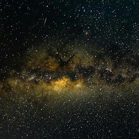 Make a wish.. by Steve Hunt - Landscapes Starscapes