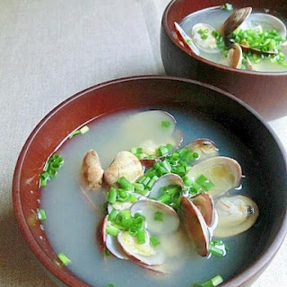 Quick Clam Miso Soup