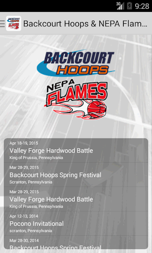 Backcourt Hoops NEPA Flames