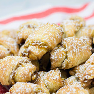 Apricot and Walnut Rugelach.