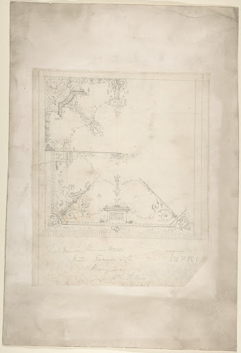 Design for a Ceiling for Thomas Wells