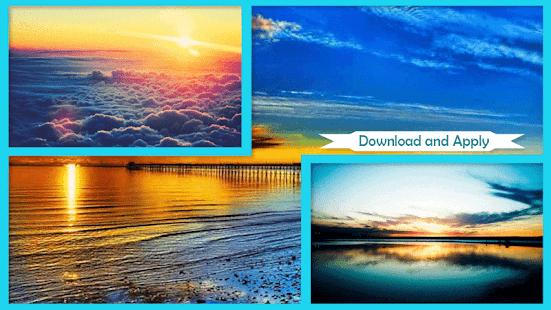 Západ slunce Tapeta - náhled