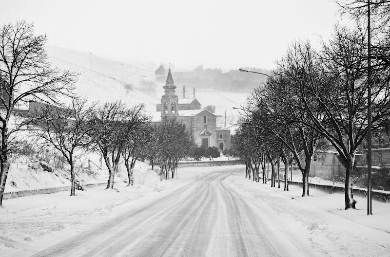 Snow - black and white di chiarasottile98