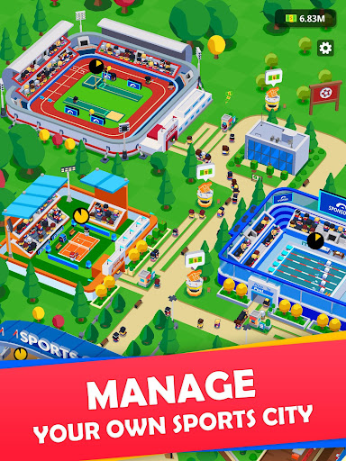 Idle Sports City Tycoon - Create a Sports Empire 0.8.2 screenshots 9