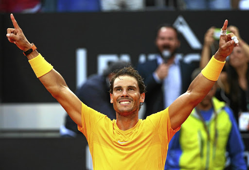 Rafael Nadal has been in sensational form on clay and is favourite to win the French Open. Picture: REUTERS