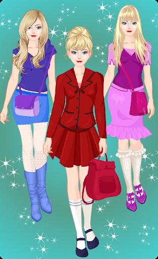 Princess High School Dress up apktram screenshots 4