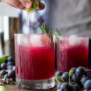 The Concord Crush -- Grape Gimlet