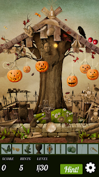 Hidden Object Halloween - Pumpkin Party APK screenshot thumbnail 1