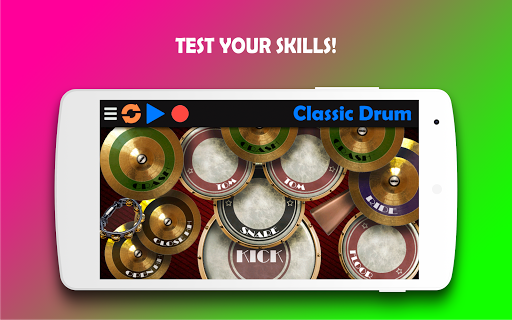 Classic Drum - The best way to learn drums! 6.7 Screenshots 1