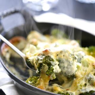 Broccoli White Cheddar Gratin