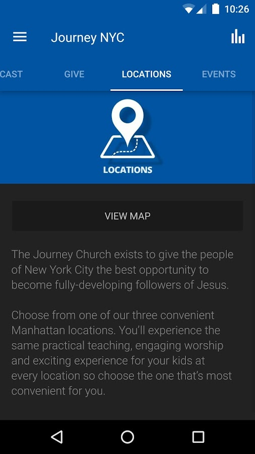 The Journey Church NYC- screenshot