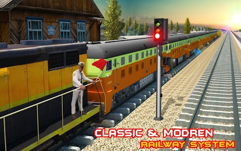 Train Driving Simulator USA: Train Games 3D 4
