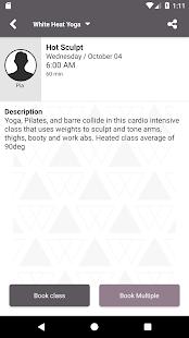 White Heat Yoga - náhled