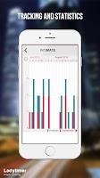 Screenshot of Menstrual Cycle Tracker