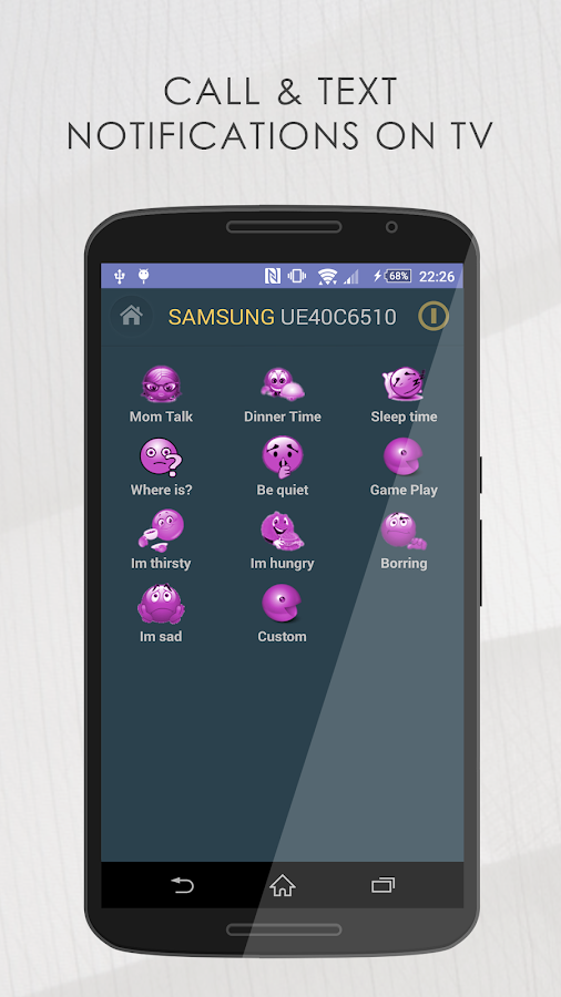 Remote for Samsung TV- screenshot