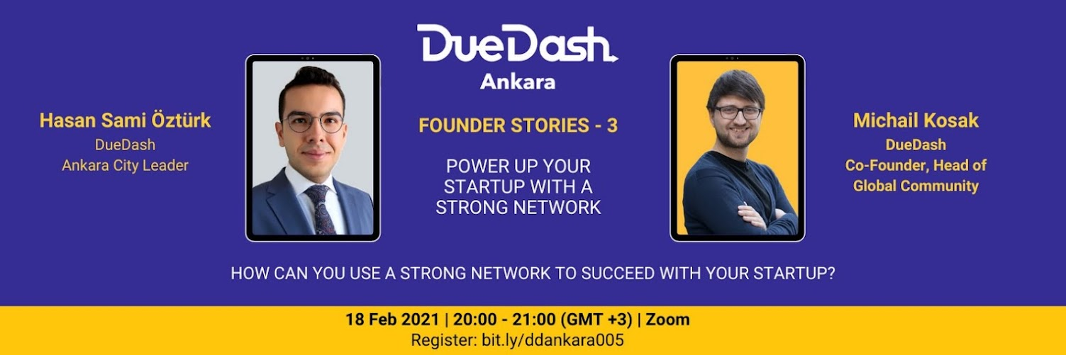 DueDash Ankara: Power up your startup with a strong network