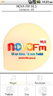 NOVA FM 98,5 Cariacica - ES - náhled