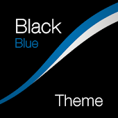 Black - Blue Theme for Xperia