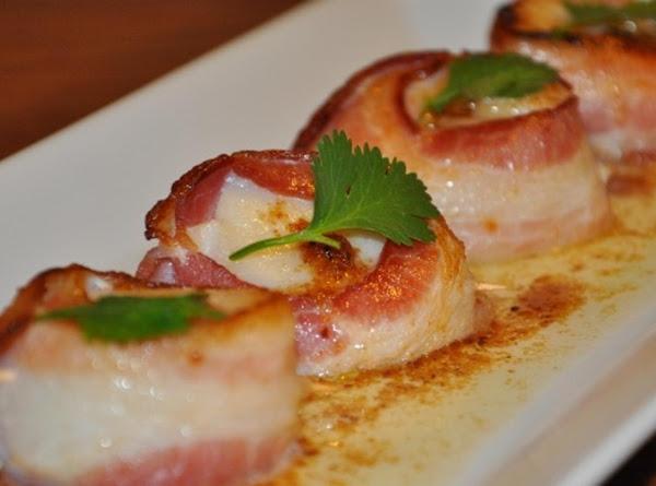 Bacon Wrapped Sea Scallops W/ Espresso Beurre Blanc Recipe