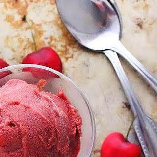 Cherry Sorbet Recipe