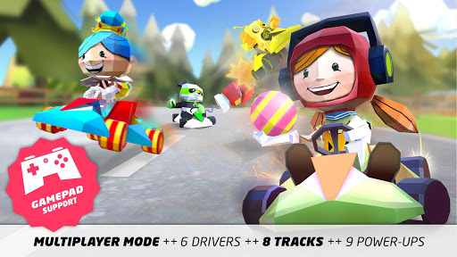 KING OF KARTS: 3D Racing Fun