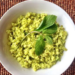 Spiced Celery Cauliflower Rice