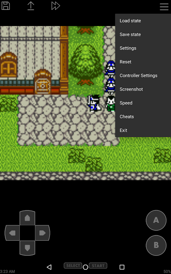 John GBC - GBC emulator- screenshot