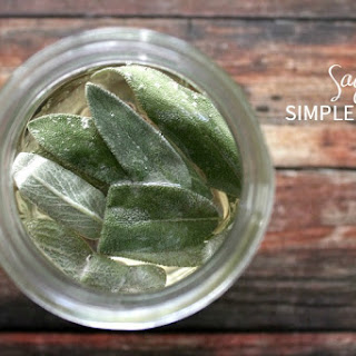 Sage Simple Syrup.