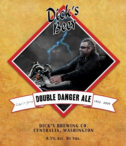 Logo of Dick's Double Danger Ale