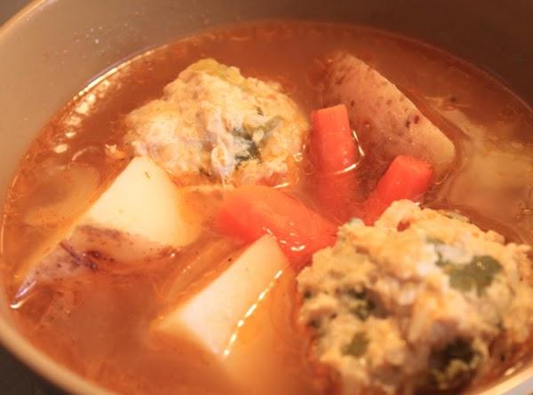 Albondigas De Pollo (chicken Meatball Soup) Recipe