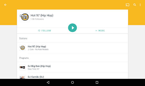TuneIn Radio Pro - Live Radio screenshot 14