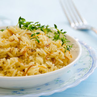 Arroz con Fideos (Rice and Fried Noodles).