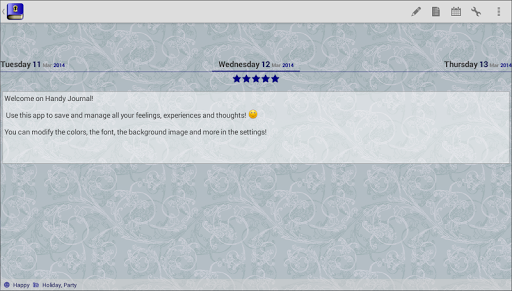 Journal with password screenshot 8