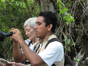 Photo: We reunited with Cornelio from our 2006 visit for a day of birding in the National Park.