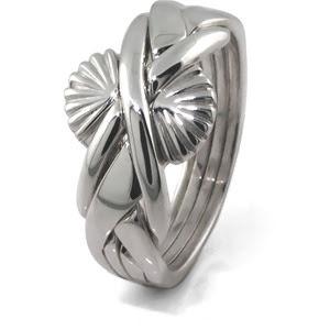 Silverring i 4 delar