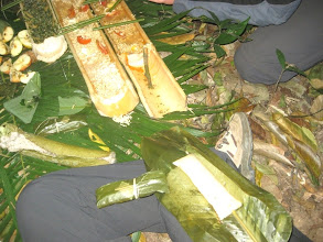 Photo: Food in Trekking Trail in Luang Namtha, Laos