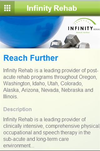 Infinity Rehab- screenshot