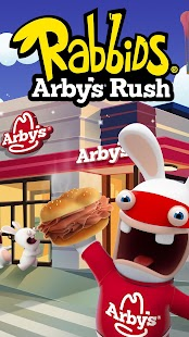 Rabbids Arby's Rush Screenshot