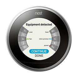 Nest thermostat C wire