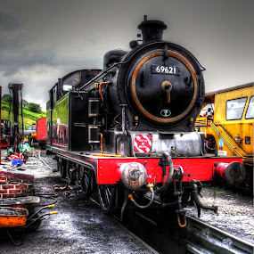 proud old timer by Ray Heath - Transportation Trains (  )