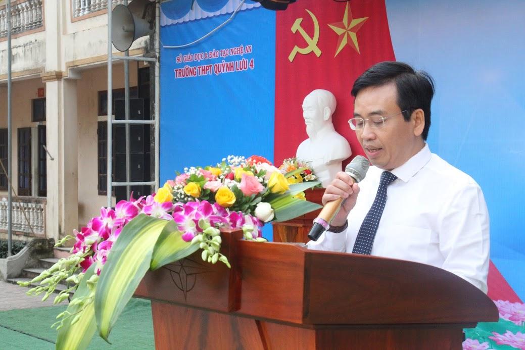 Ông Nguyễn Bá Hảo, Phó Giám đốc Sở Thông tin - Truyền thông, Phó Trưởng ban tổ chức phát biểu khai mạc