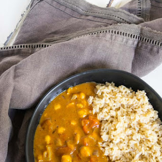 Easy Vegan Chickpea Curry.