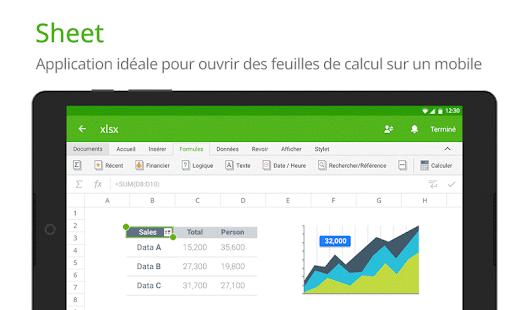 Polaris Office + PDF Editor Capture d'écran