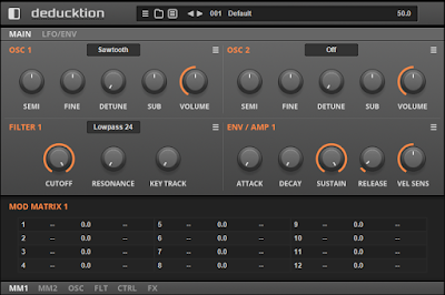Deducktion synth free