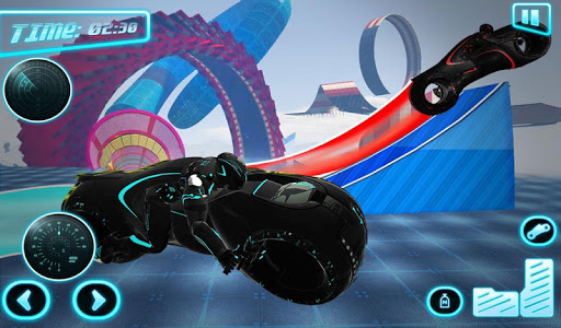 Tron Bike Stunt Racing 3d Stunt Bike Racing Games 101 gameplay | by HackJr.Pw 12