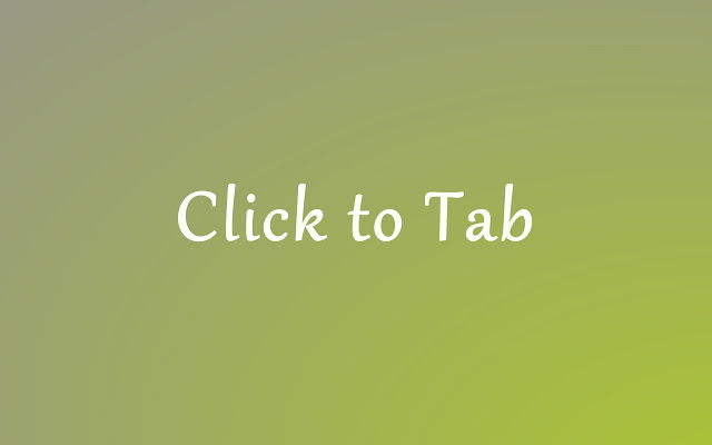 Click to Tab My