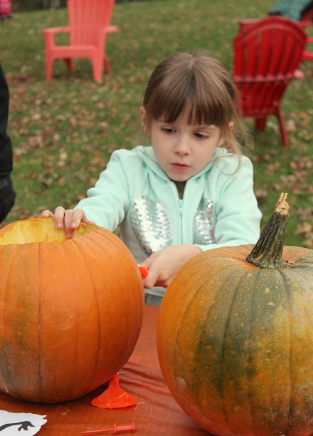 Family Pumpkin Carving Party + Pumpkin Carving Stencils