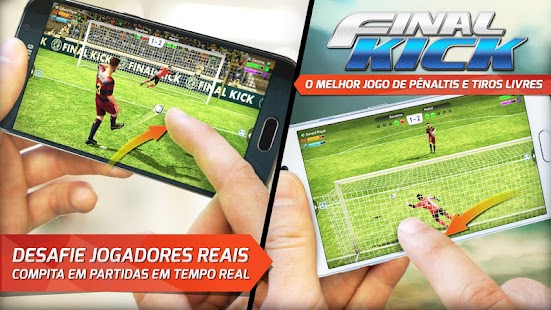 Final Kick: Futebol online Screenshot