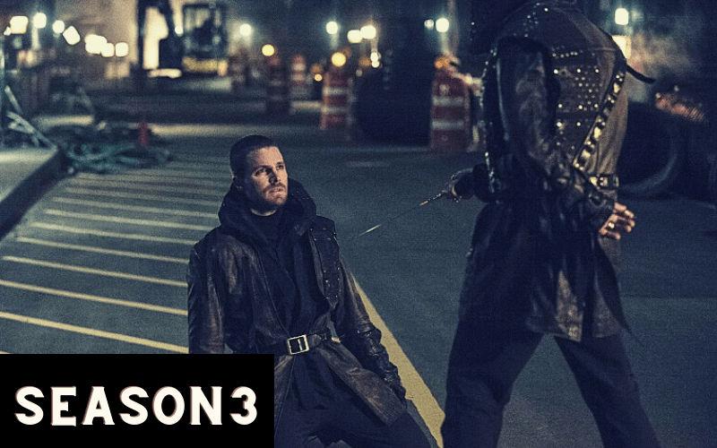 Index of Arrow Season 3