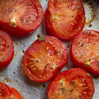 Juicy Roasted Tomatoes with Oregano and Garlic Recipe